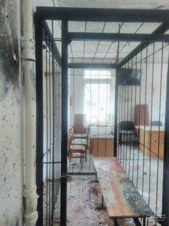 Последствия резонансного взрыва в суде Никополя