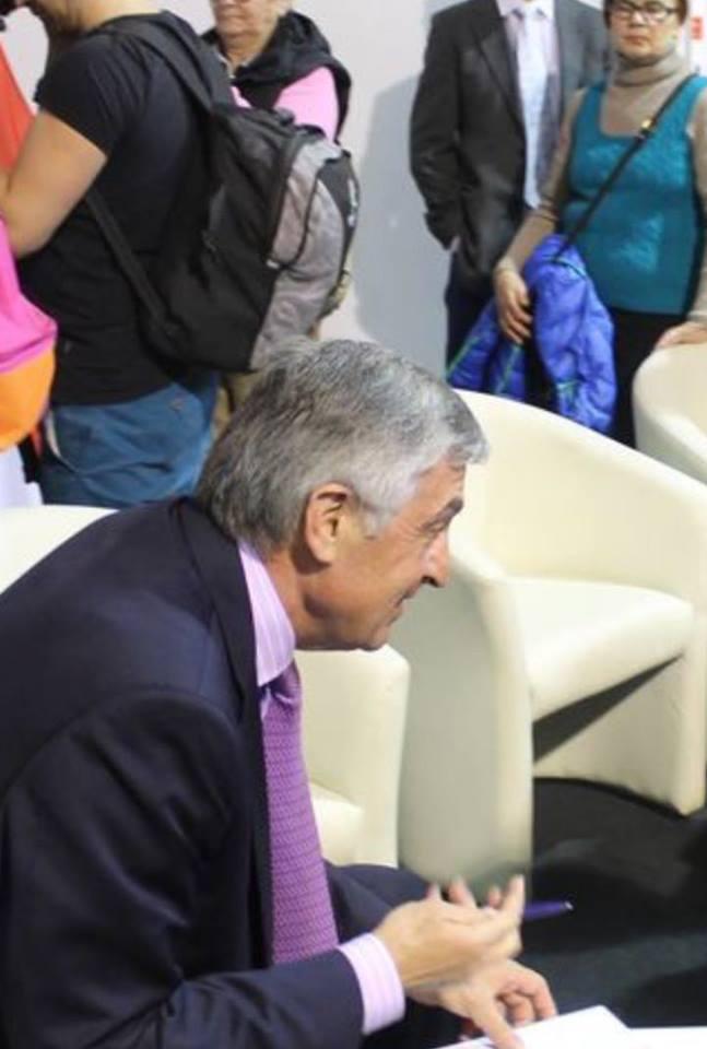 Дядя Михеила Саакашвили в аэропорту