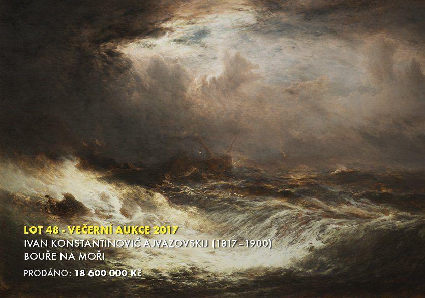 В Чехии сообщают о продаже картины Айвазовского почти за 800 тысяч евро