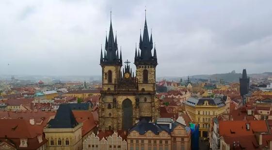 В чешской столице обрушился легкий бетонный мост
