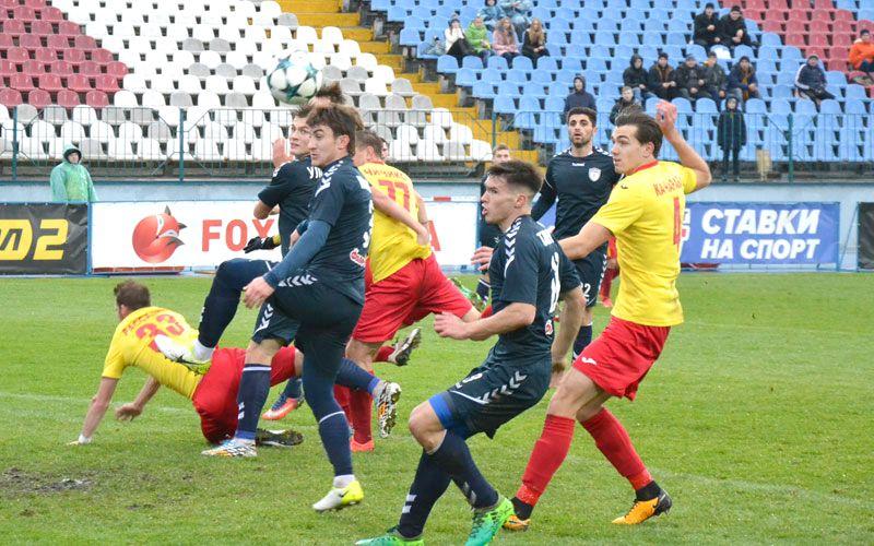 Матч в Кропивницком завершилмя победой хозяев