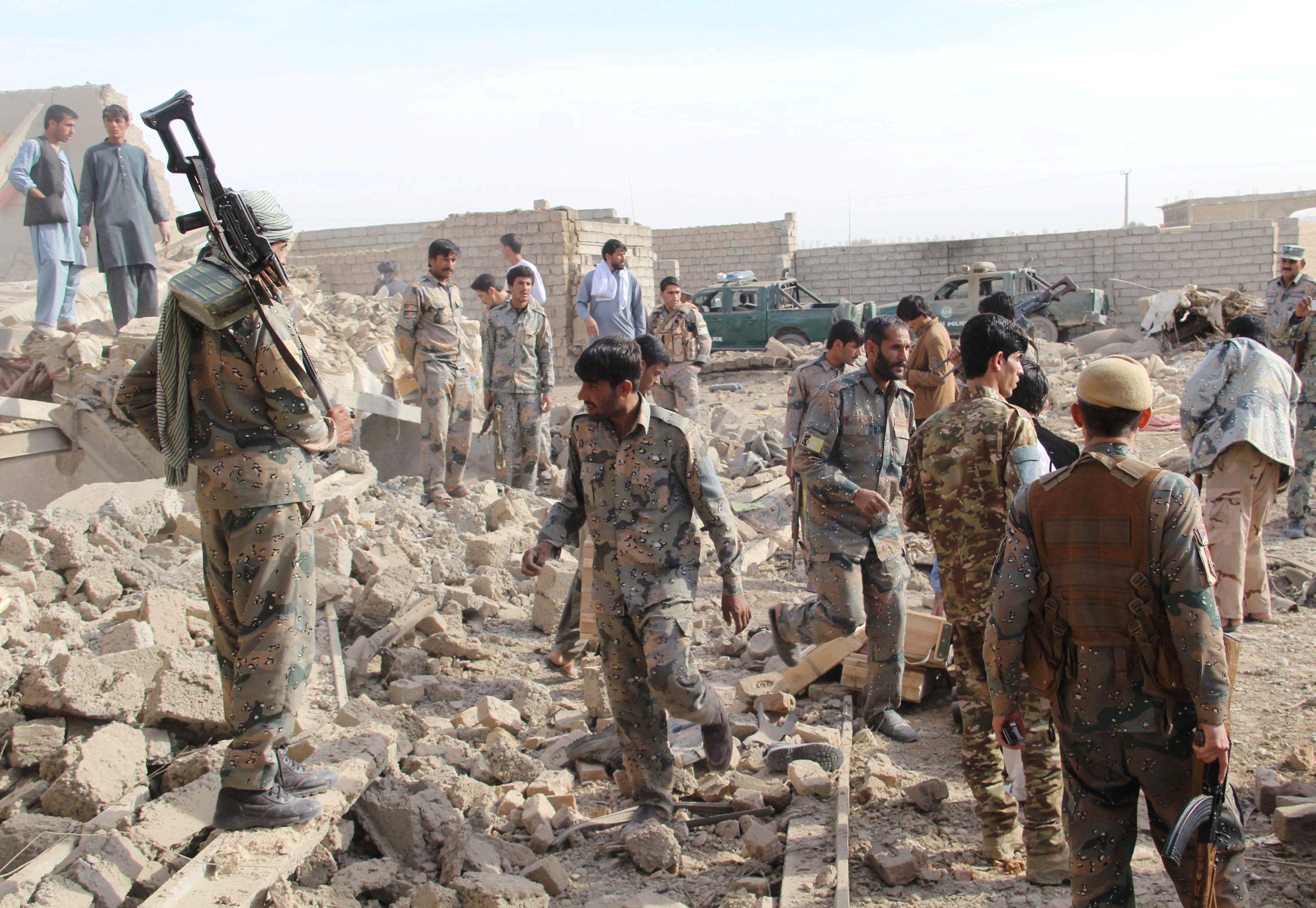 Афганистан,руины