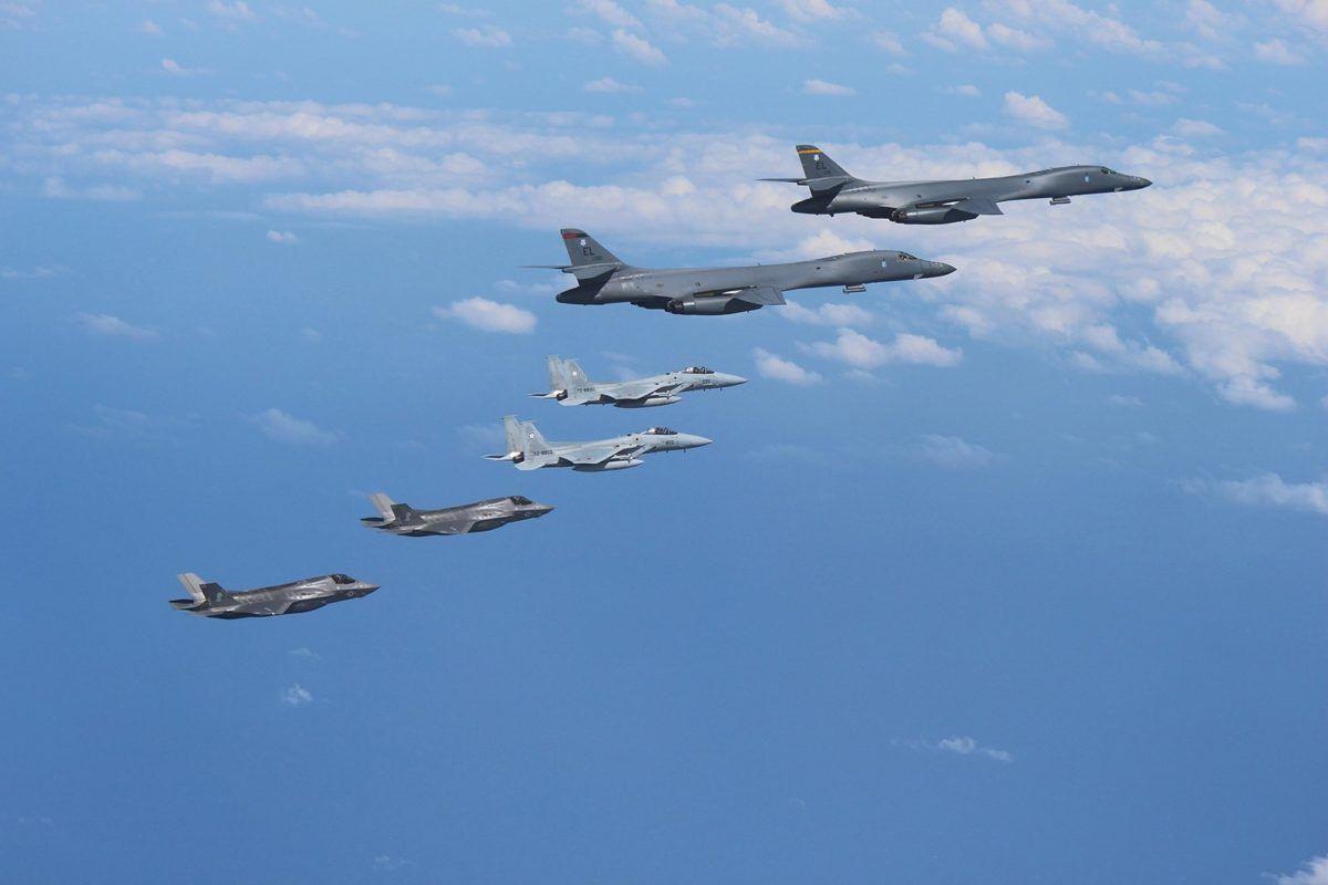 Совместные учения ВВС США и Южной Кореи
