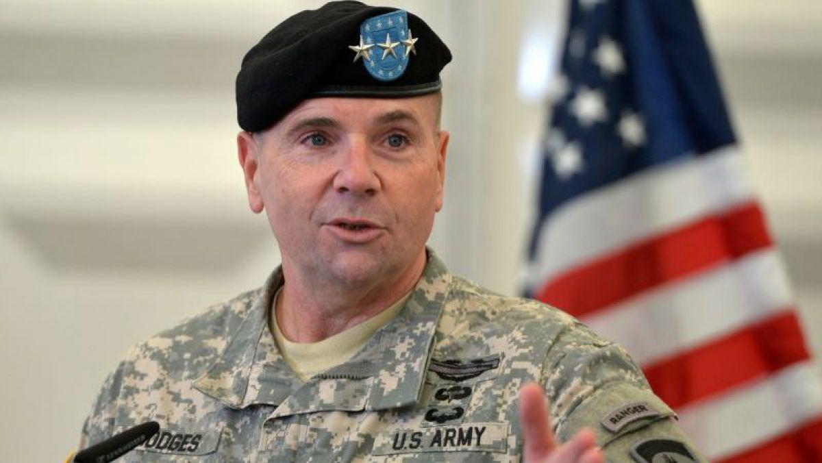 Генерал-лейтенант Бенджамен Ходжес