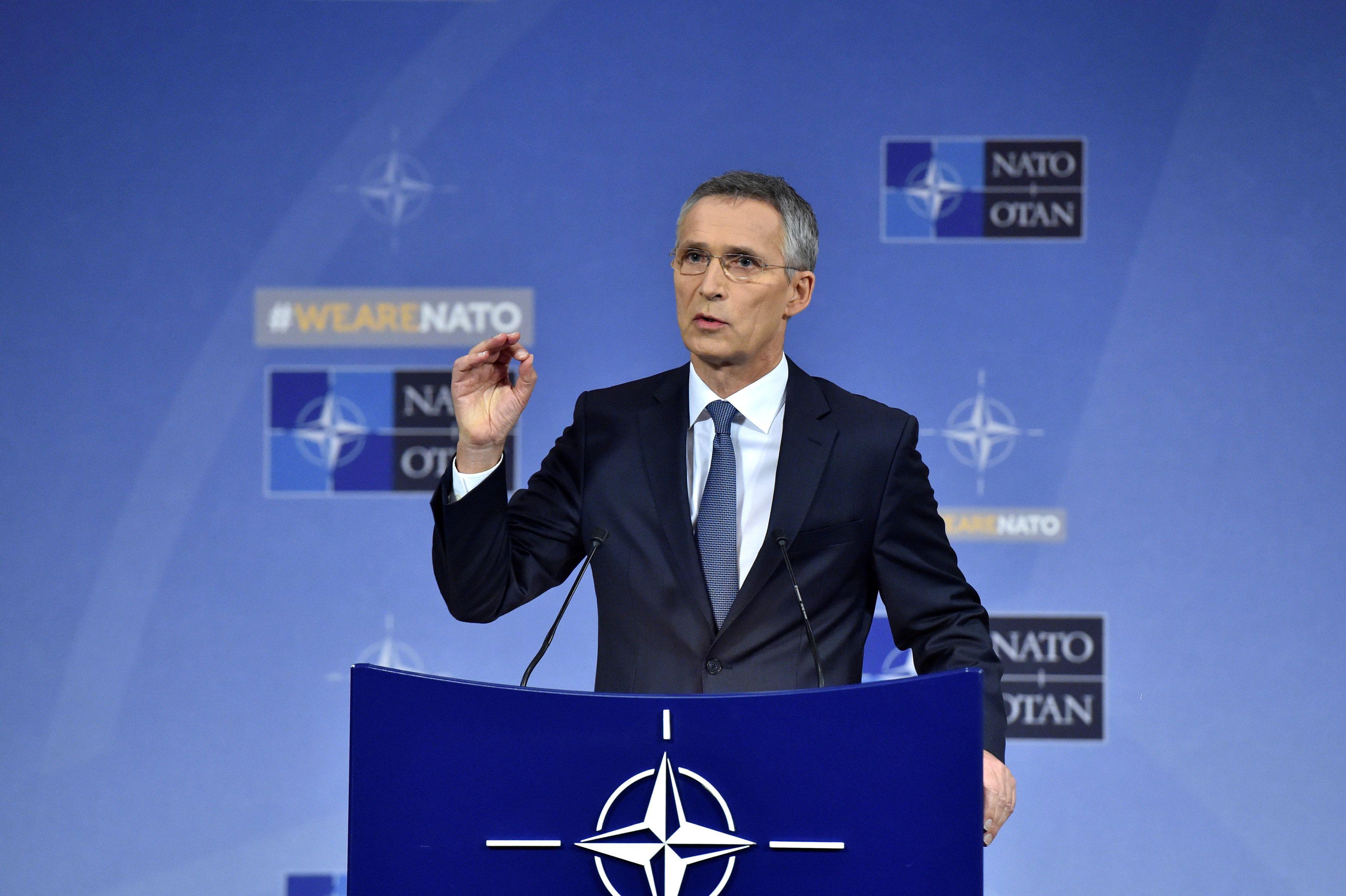 Столтенберг заявил, что Москва наращивает свою агрессию