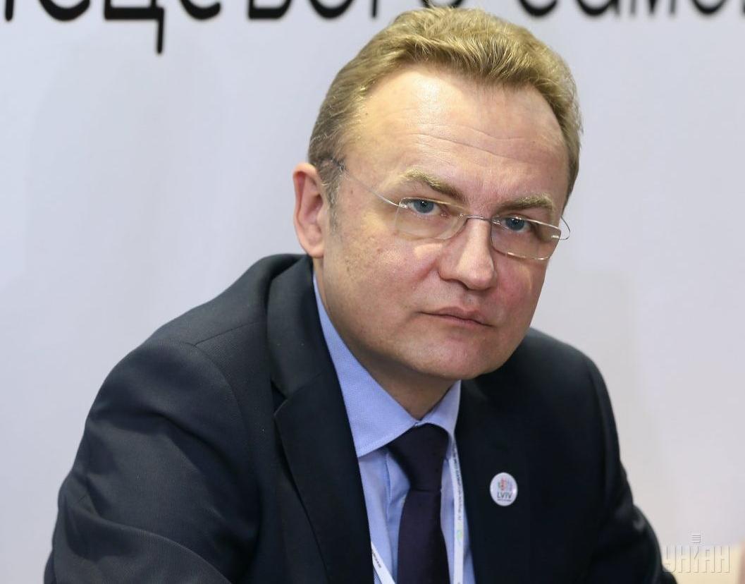 Андрей Садовый — Андрей Садовый решил покинуть пост лидера партии Самопомощь