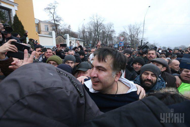 Саакашвили вменяют содействие участникам преступных организаций