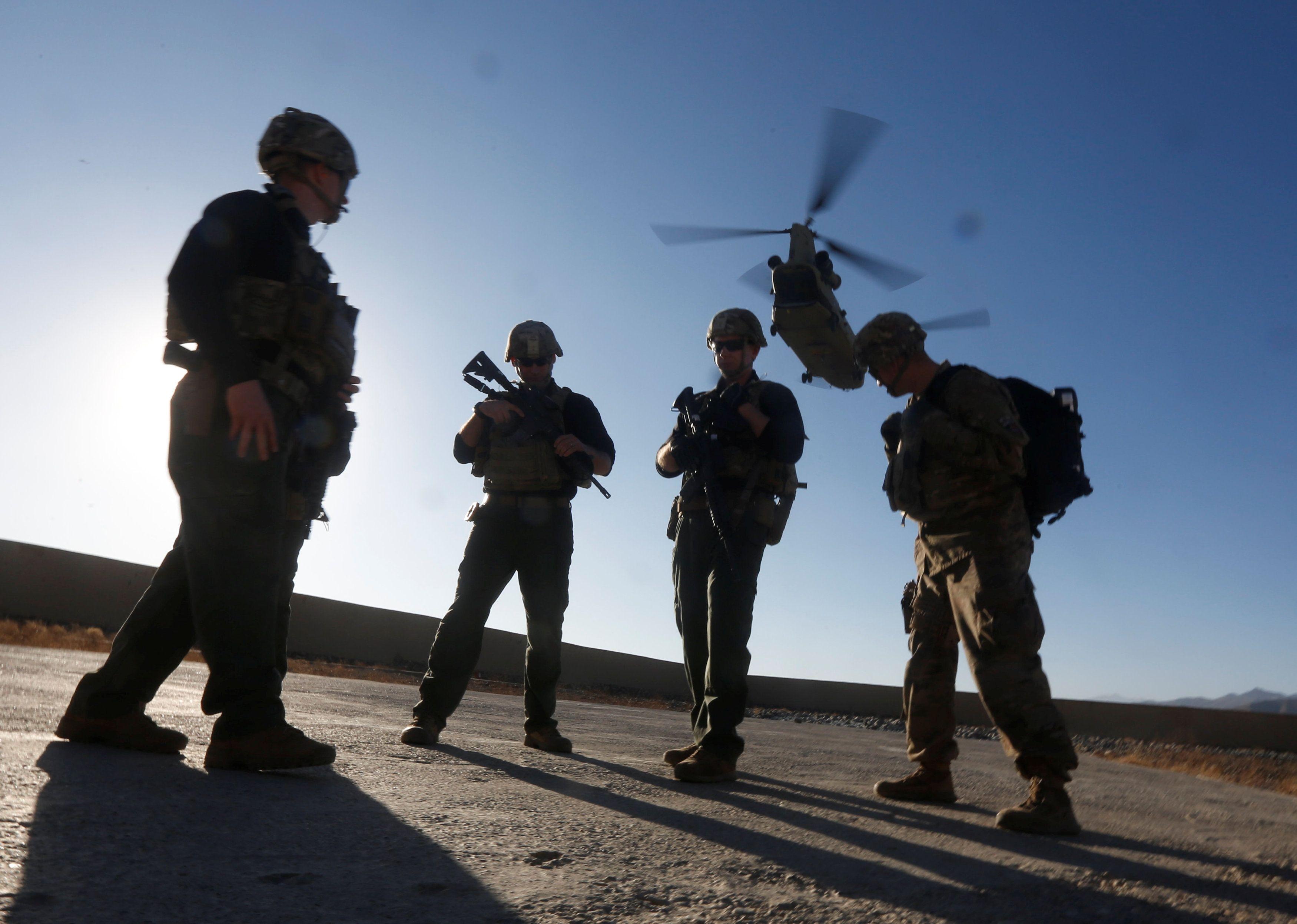 В стране правительственные войска и силы под руководством НАТО уничтожили десятки террористов