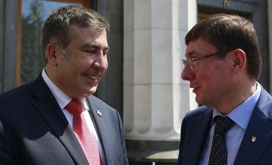 Саакашвили обвинил Луценко во лжи