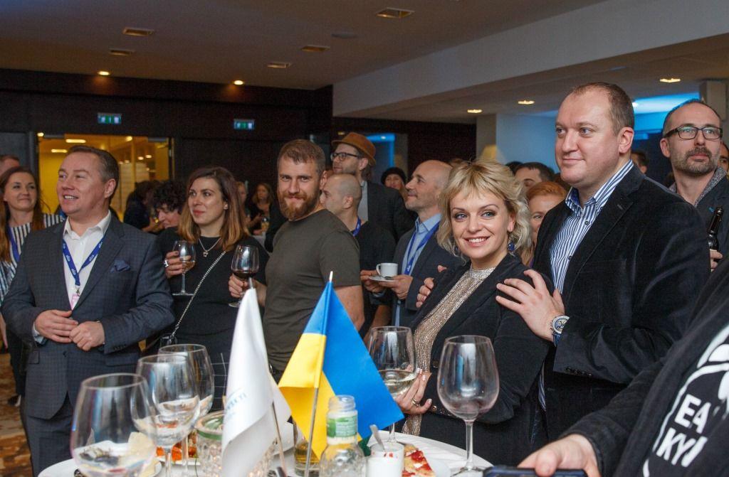 Украинская делегация в Таллине