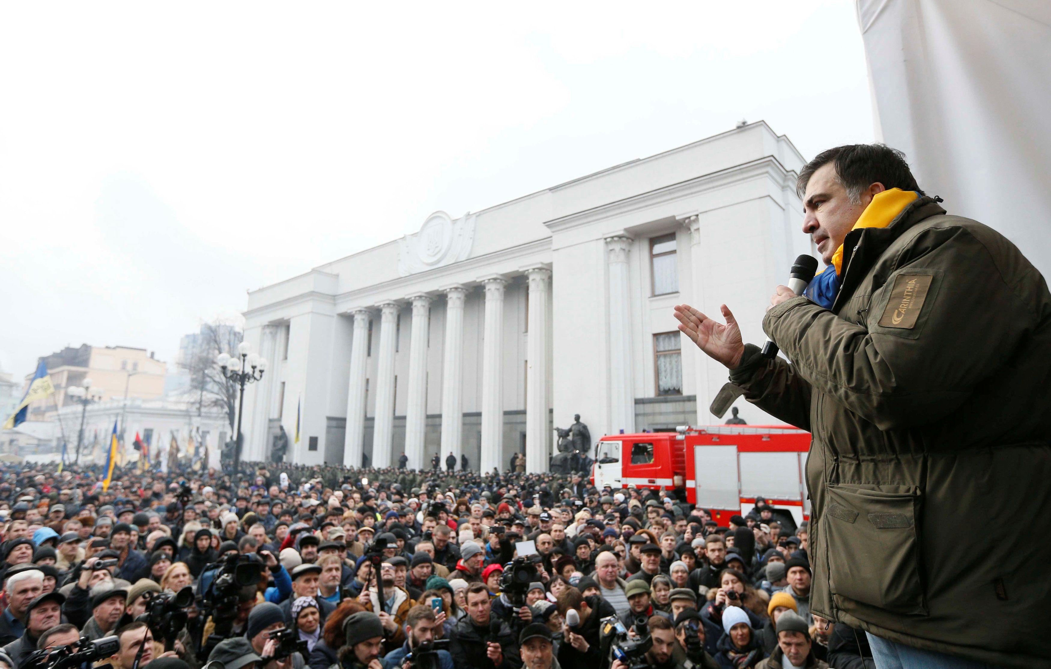 Саакашвили вынуждет повышать ставки