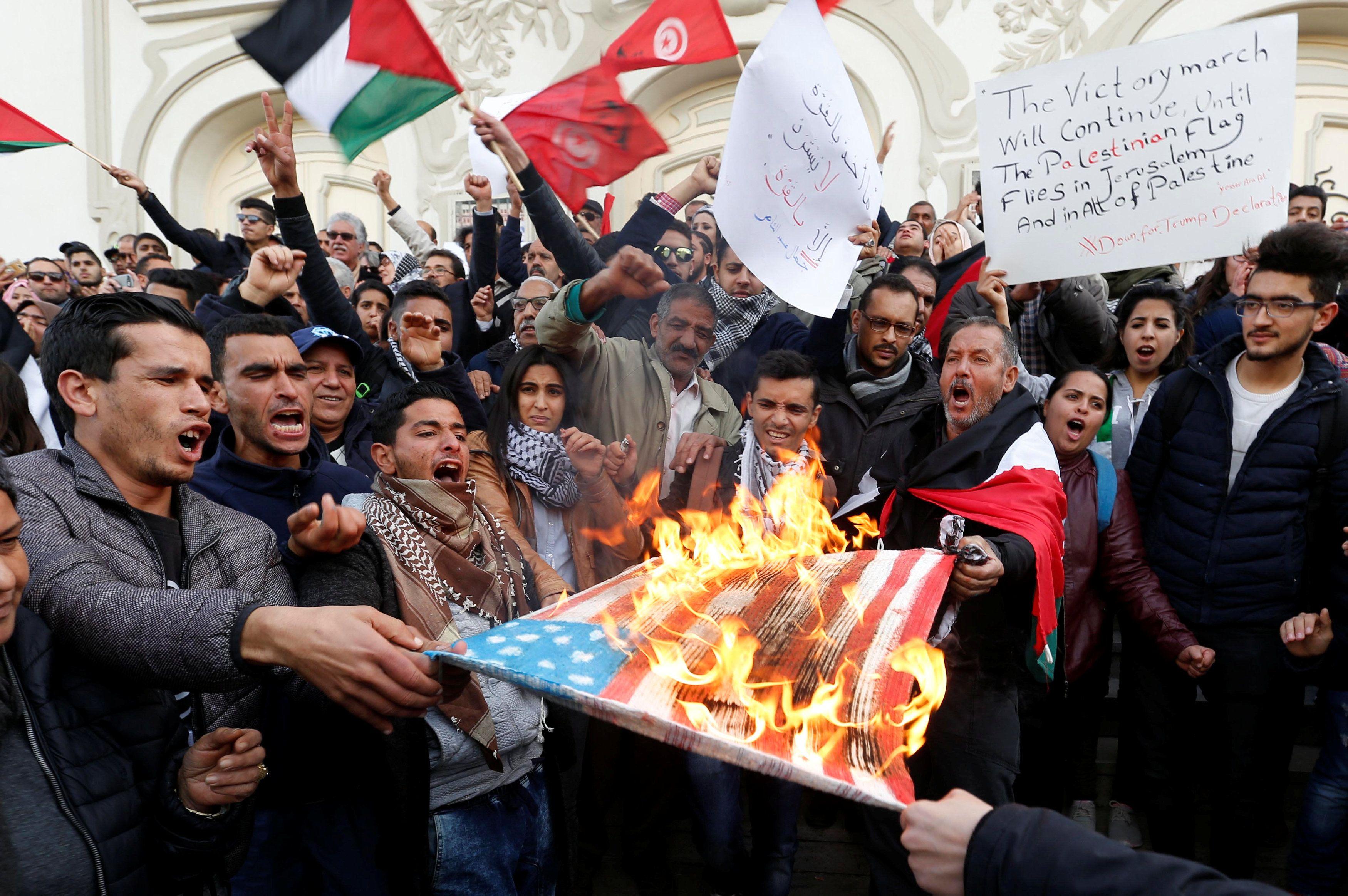 Протесты в Израиле, иллюстрация