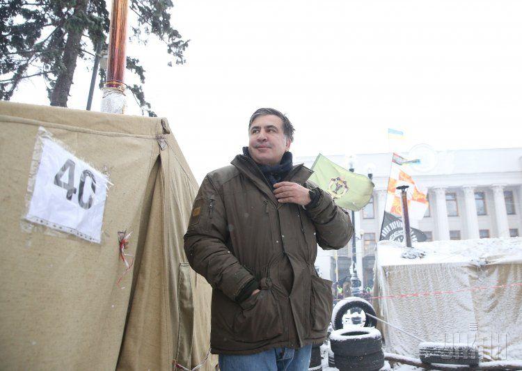 Михеил Саакашвили сообщил, что на выходных в столице запланирован марш