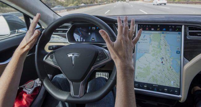 Электрокар производства Tesla