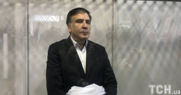 Саакашвили в зале суда