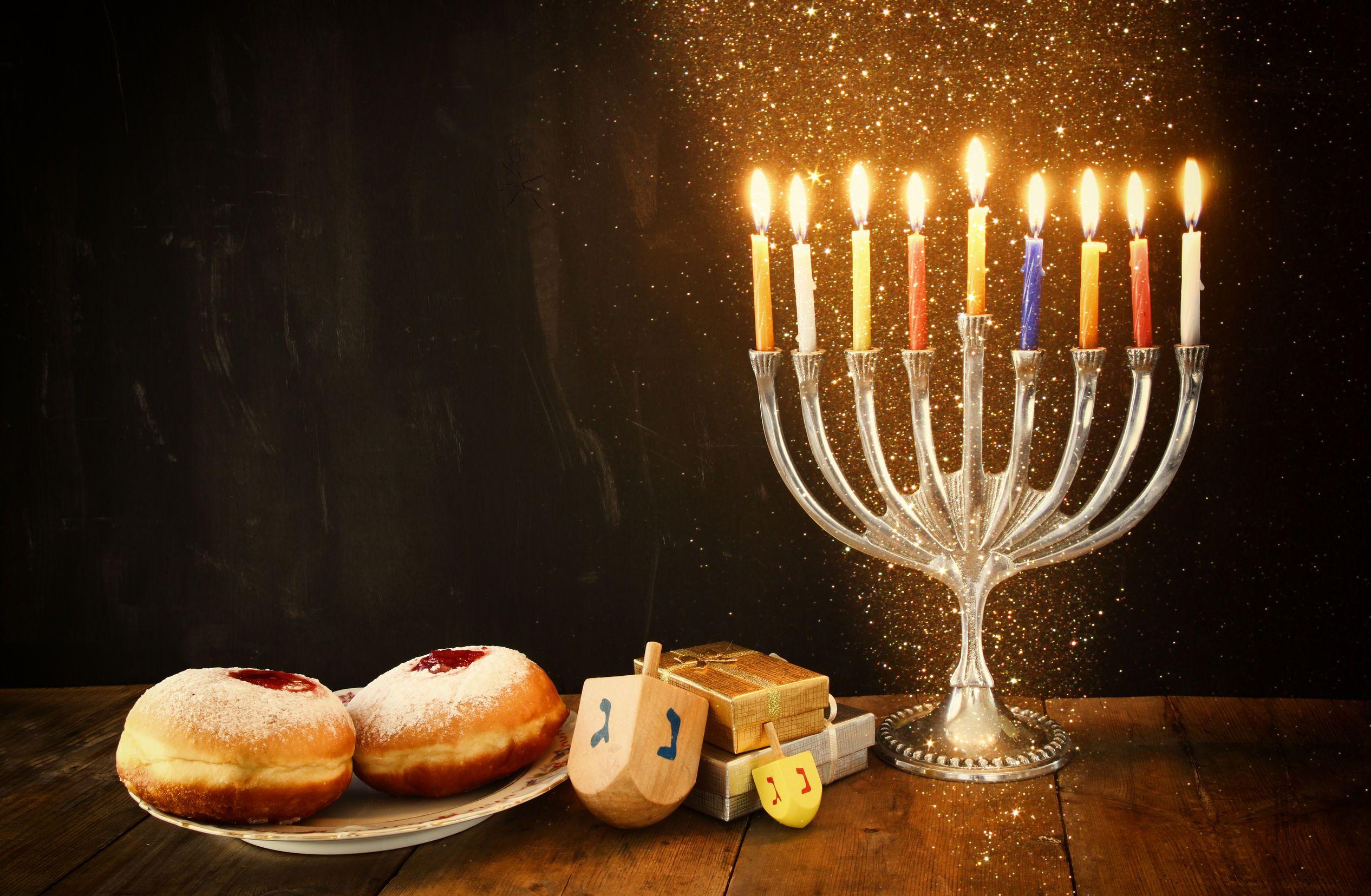 Атрибуты празднования Хануки