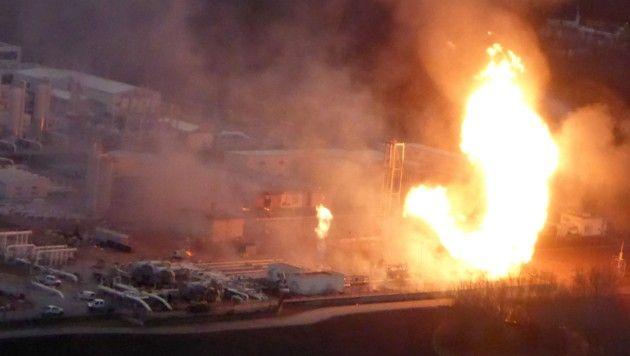 Взрыв газораспределительного хаба Баумгартен.