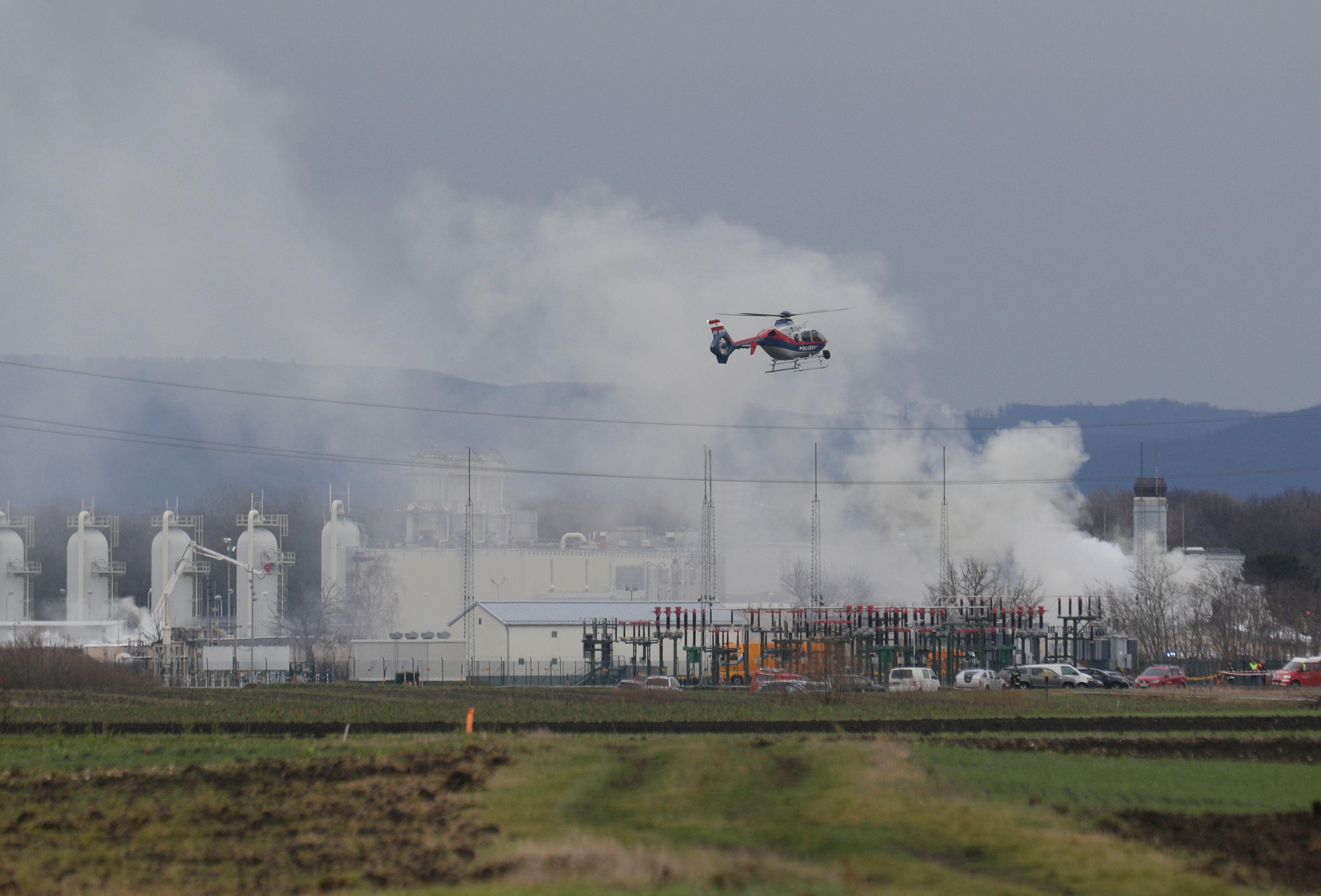 После взрыва на газовом хабе в Австрии
