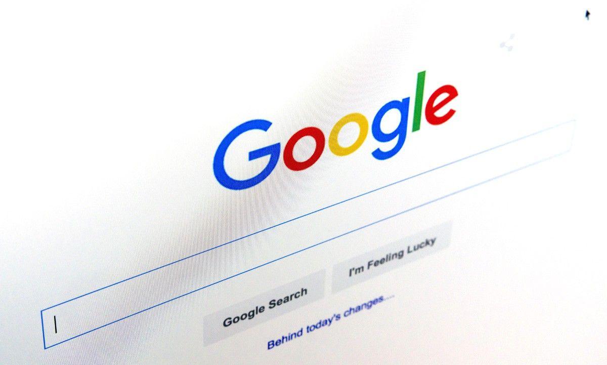 Гугл страница