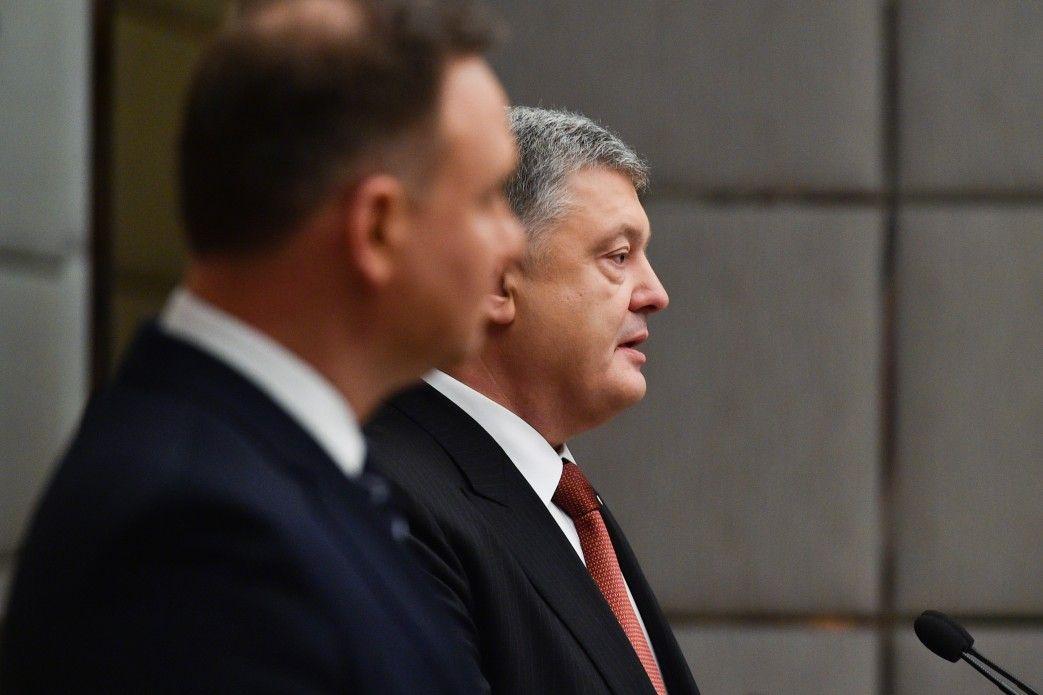 Порошенко и Дуда встретились в Харькове