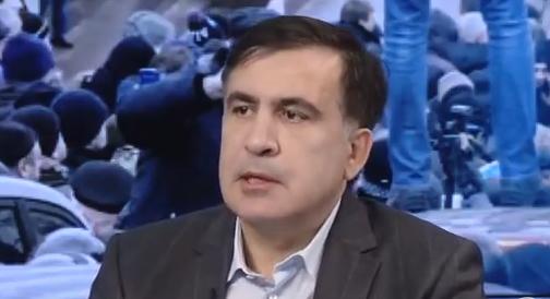 Михеил Саакашвили сказал, что не хочет возглавить Украину