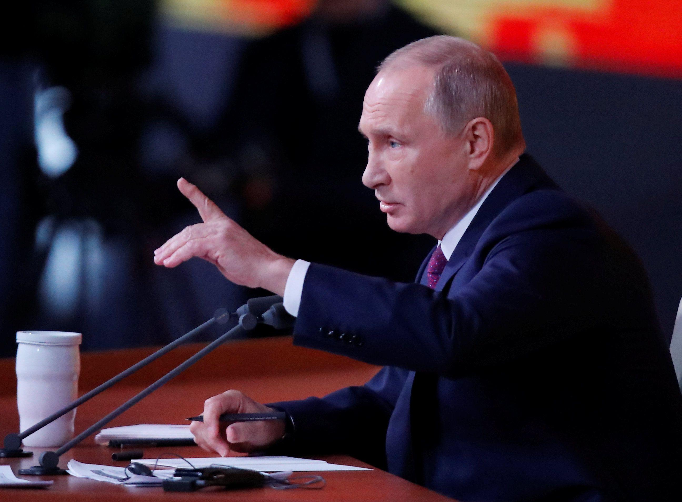 Путина беспокоят три вопроса