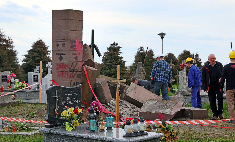 Украинский памятник в Польше