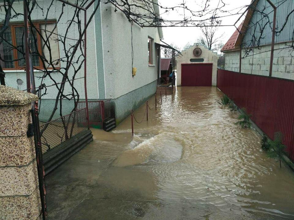 На Закарпатье подтоплено более 900 домов