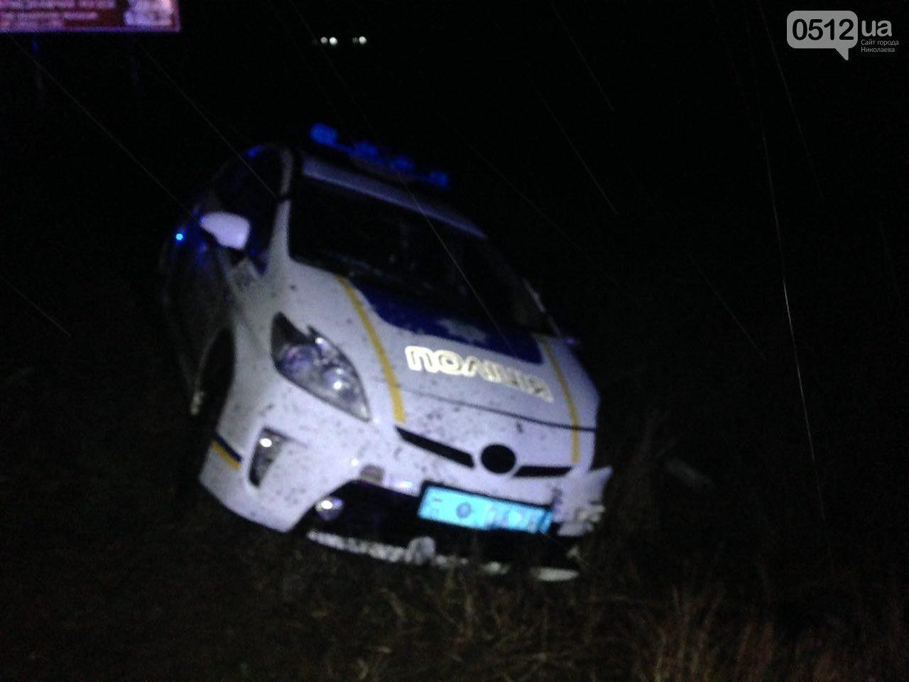 На Николаевщине полицейские застрелили грабителя