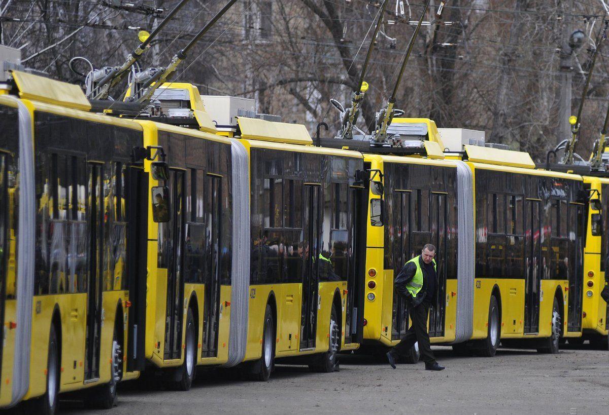 Киевские троллейбусы