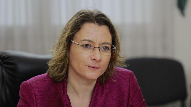 Посол Франции в Украине Изабелль Дюмон