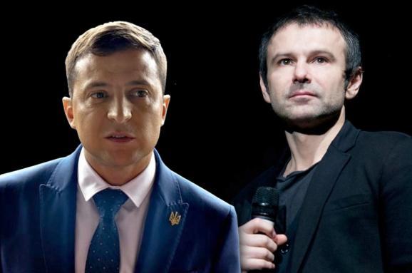 Политолог оценил шансы Вакарчука и Зеленского стать президентом