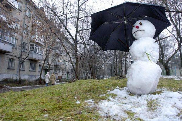 Синоптики предупредили, что в Киеве в понедельник потеплеет