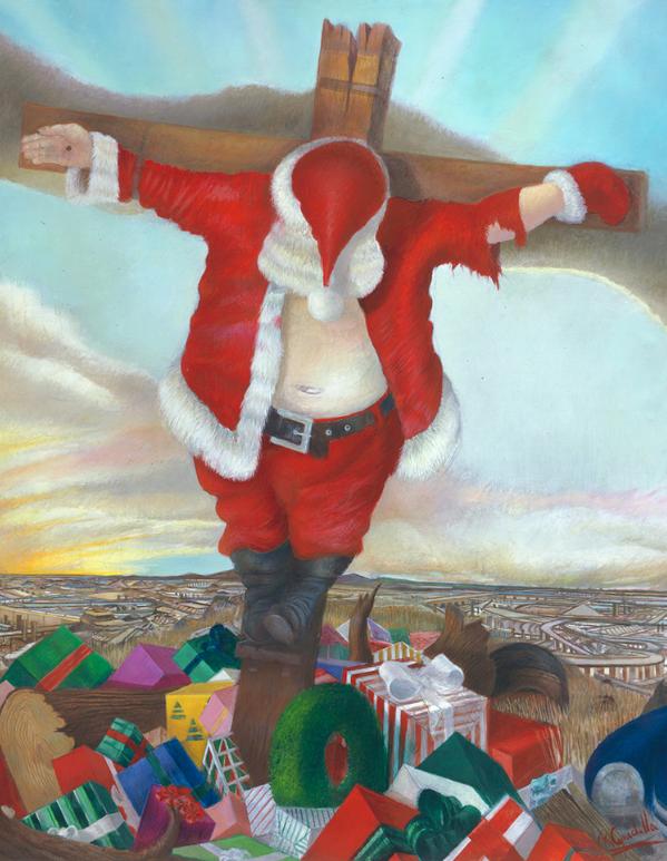 Выставленная картина американского художника возмутила прохожих