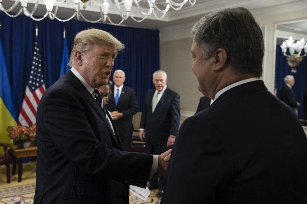 Встреча Трампа и Порошенко все-таки состоялась.