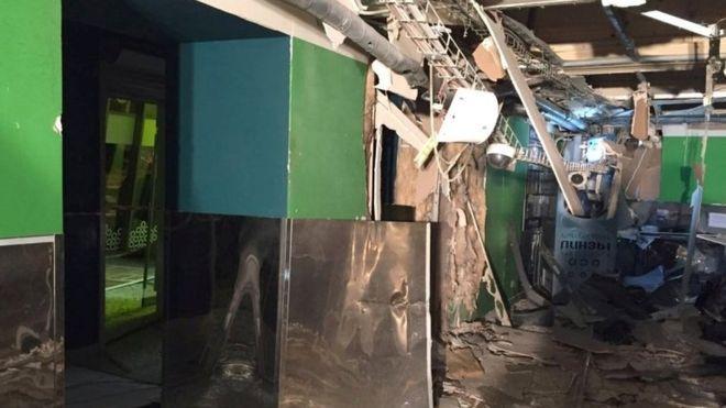 Взрыв в супермаркете (Санкт-Петербурге)