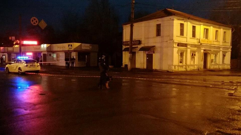 Захваченное отделение почты в Харькове