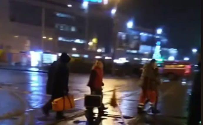 В Харькове из захваченного отделения почты отпустили женщин и детей