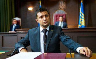 Партия Владимира Зеленского набирает проходной балл