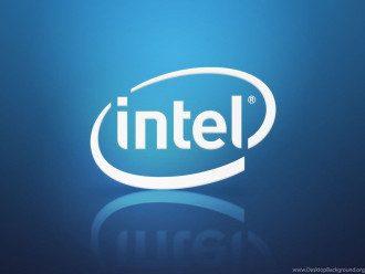 """Логотип корпорации """"Intel"""""""