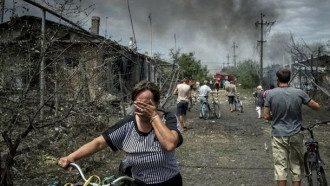Мирное население в зоне конфликта на Донбассе