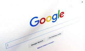 Стартовая страница поисковика