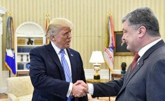 порошенко трамп