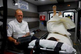 Пострадавший во время сексуальных утех в машине скорой помощи