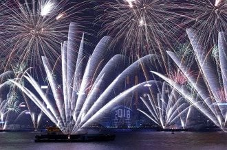 Новый год наступил на всей планете