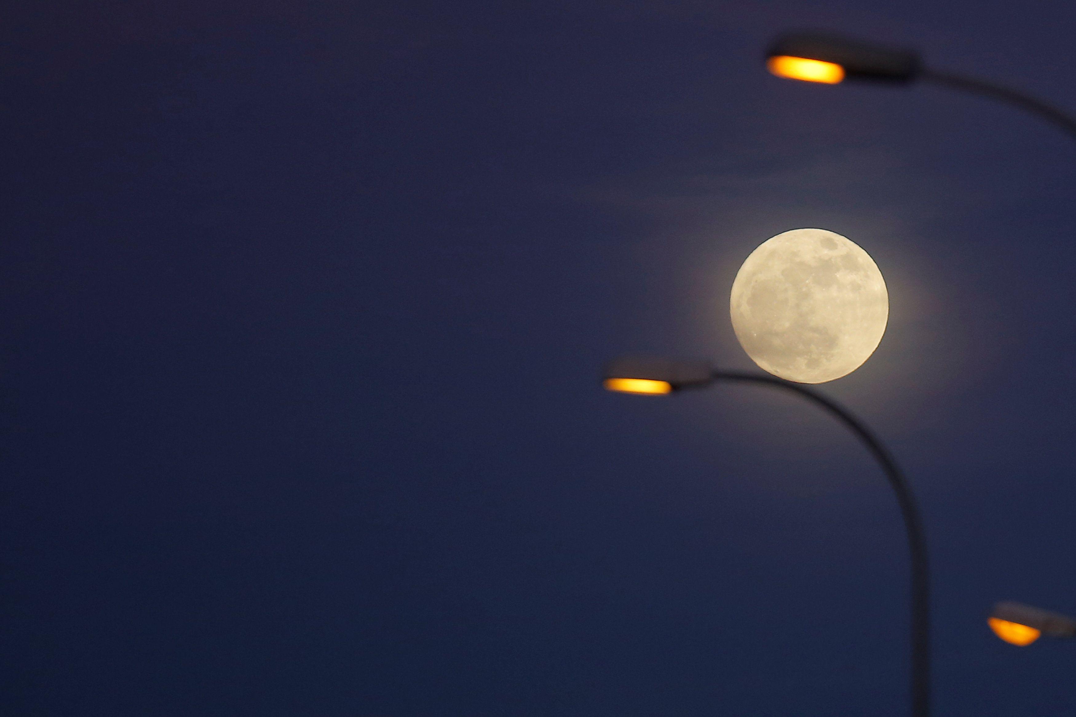 31 марта землян ждет голубая луна.