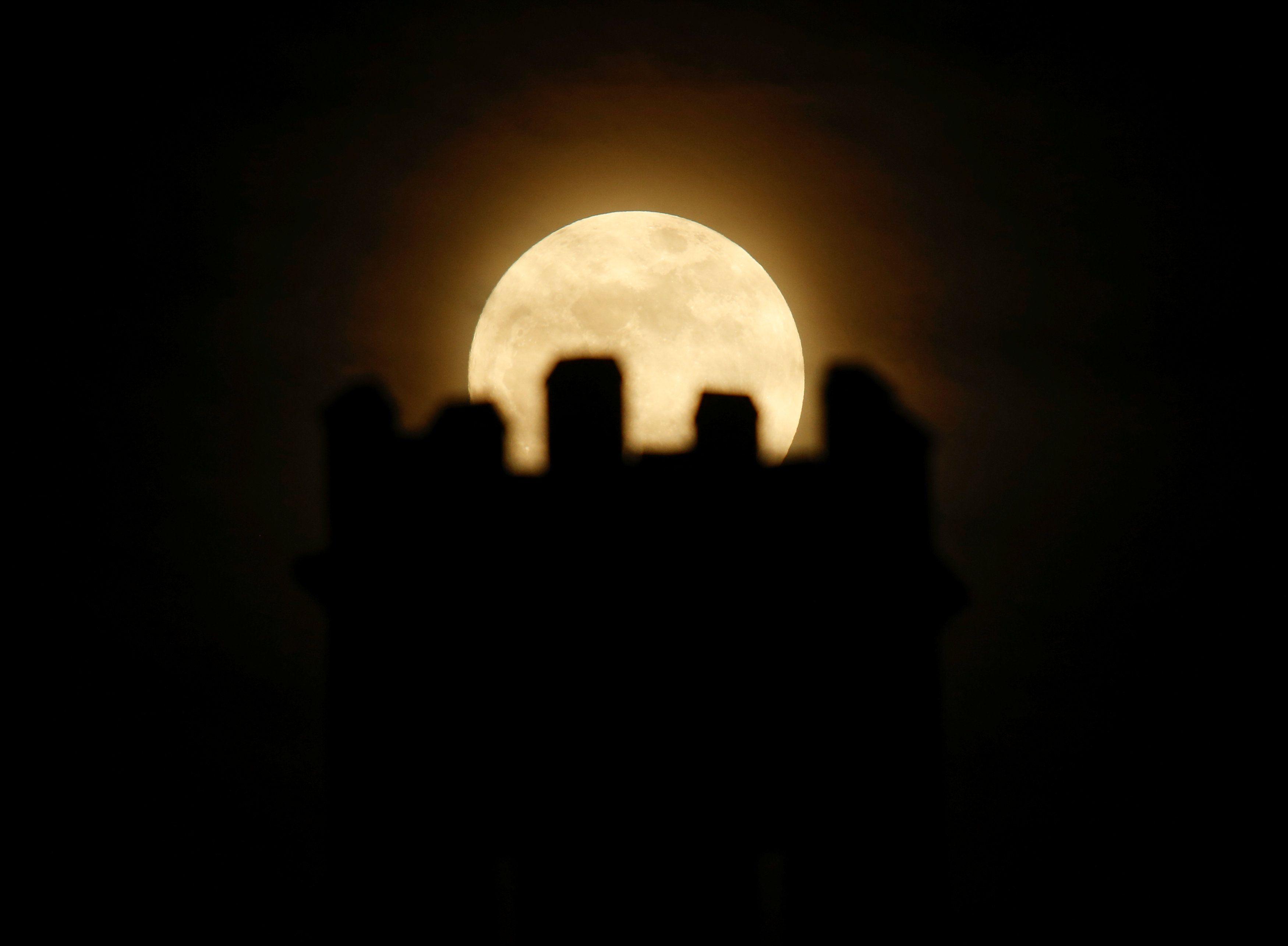 Луна, суперлуние