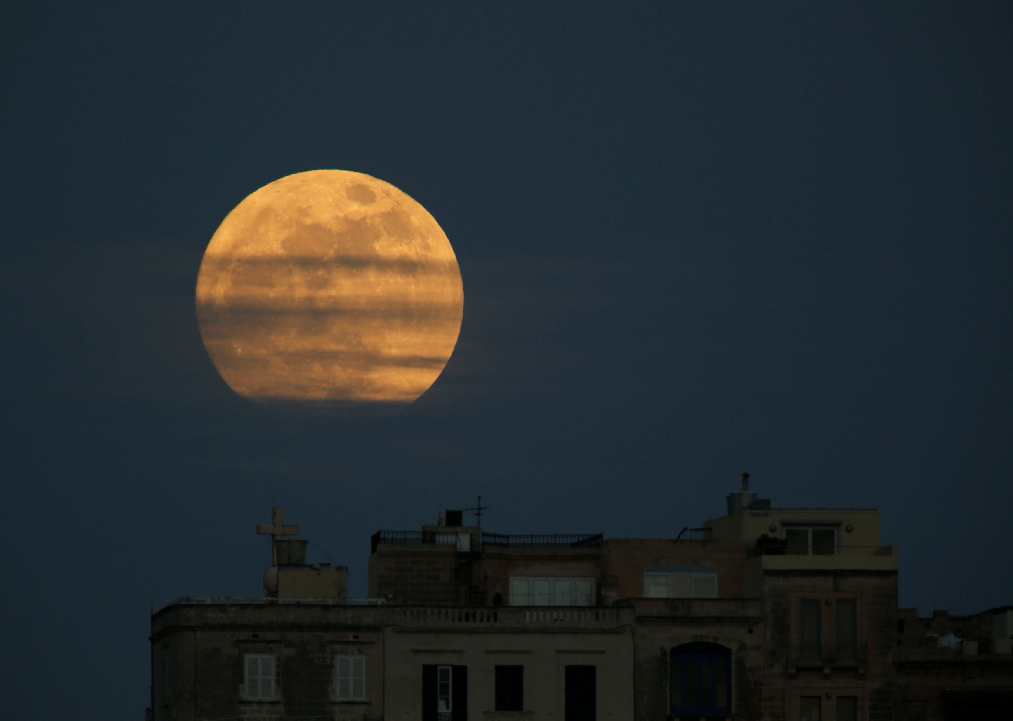 Затмение, суперлуние и голубая Луна совпадут 31 января