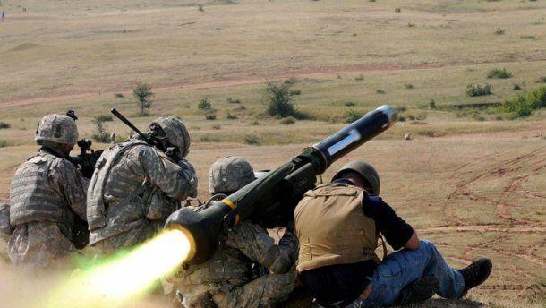 Полученное от США оружие