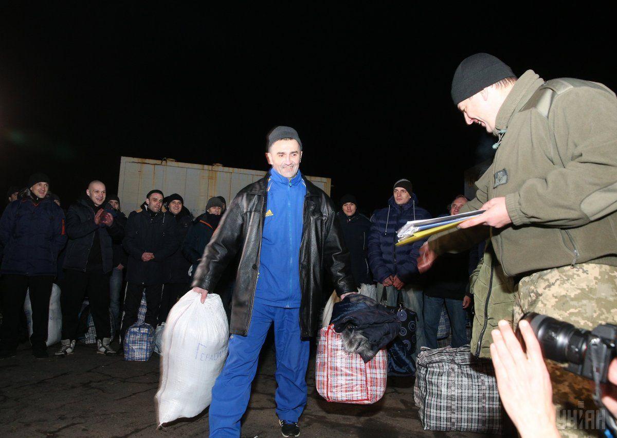 Освобожденные из плена украинцы
